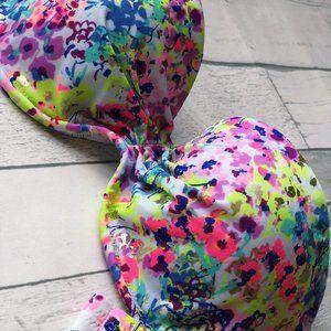 Victoria Secret Floral Bikini Top